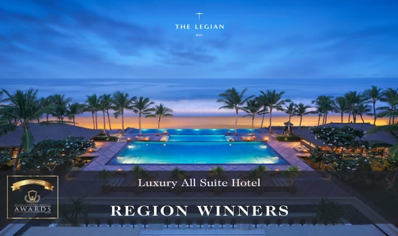The Legian Bali – Best Regional Luxury all Suite Hotel  Voted in the World Luxury Awards 2016