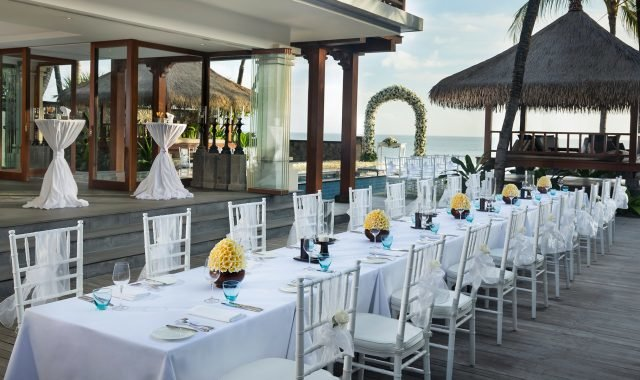 Outdoor Dining at The Legian Bali