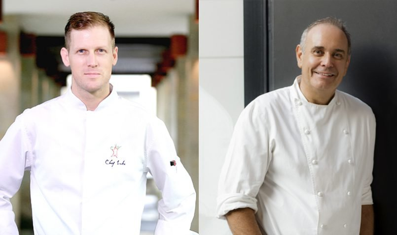 The Legian Bali's Four Hands Dinner with Philip Johnson and Luke MacLeod