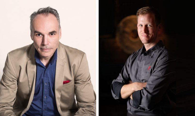 The Legian Bali's Four Hands Dinner with Raymond Capaldi and Luke MacLeod