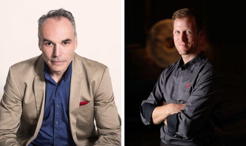 The Legian Bali's Four Hands Dinner with Raymond Capaldi and Luke MacLeod