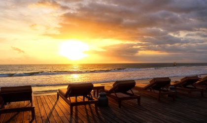 The Legian Bali Pool Deck