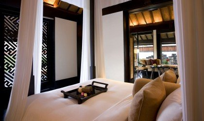 One Bedroom Villa bedroom - Club at The Legian Bali