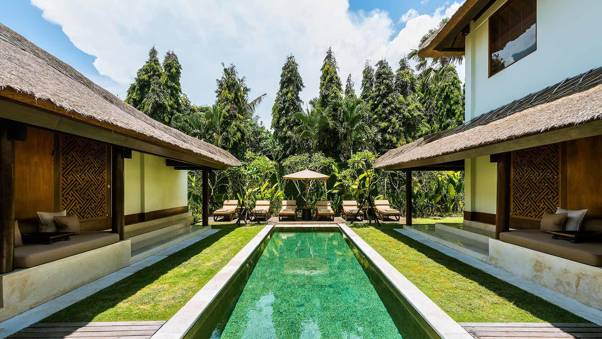 Three Bedroom Villa Pool View Club At The Legian Bali Lhm Hotels The Legian Bali