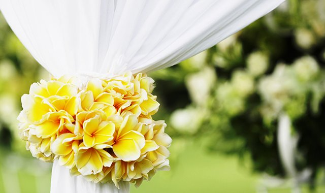 Wedding Flowers - The Legian Bali